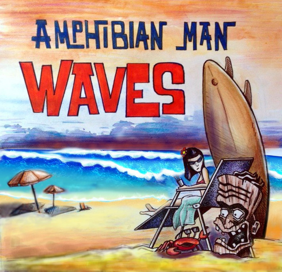 Amphibian Man - Waves EP