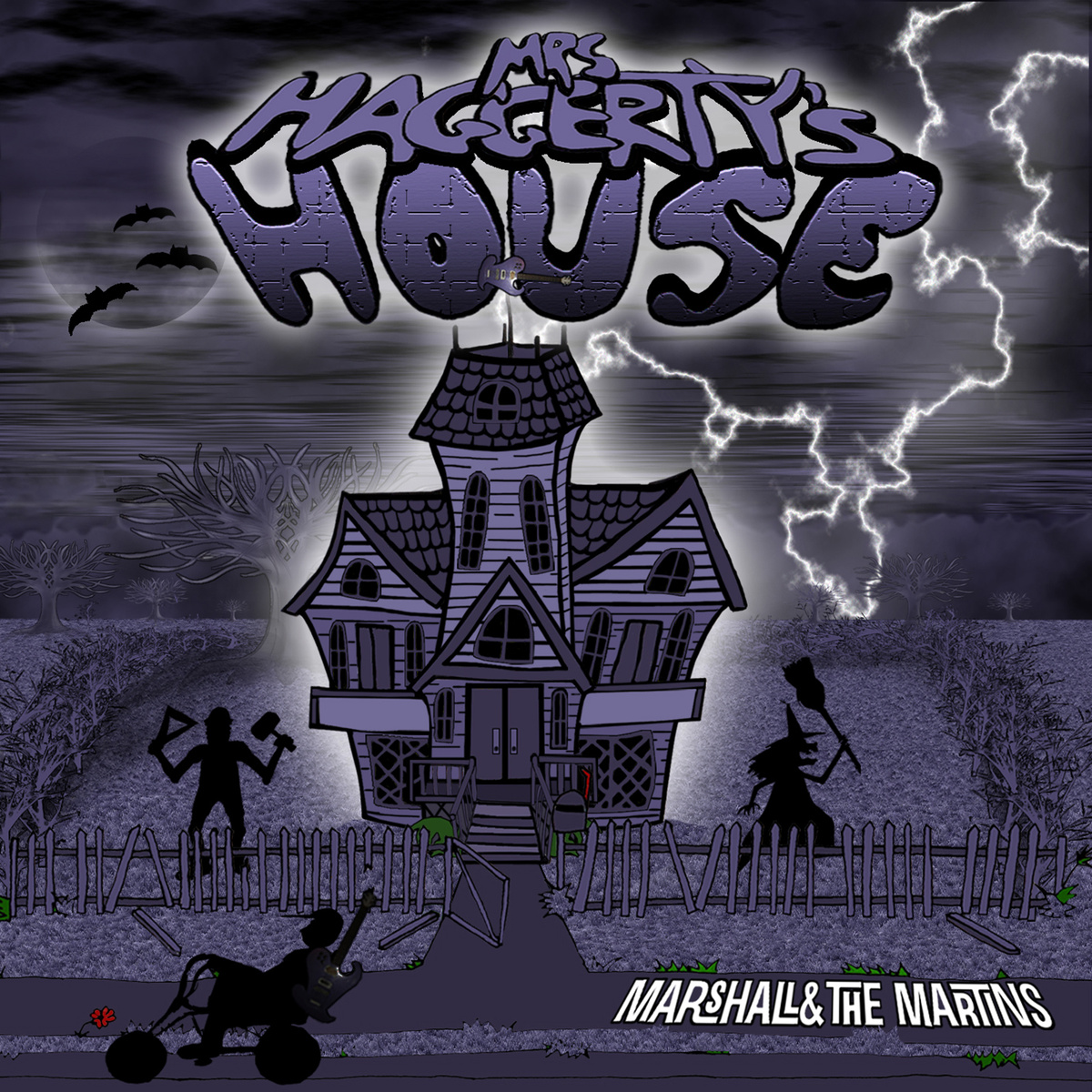 Marshall and the Martins - Mrs. Haggerty's House