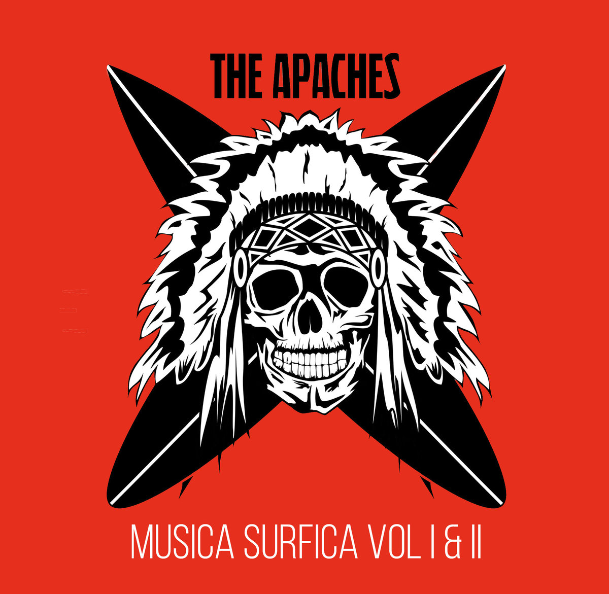 The Apaches - Musica Surfica Vol I & II