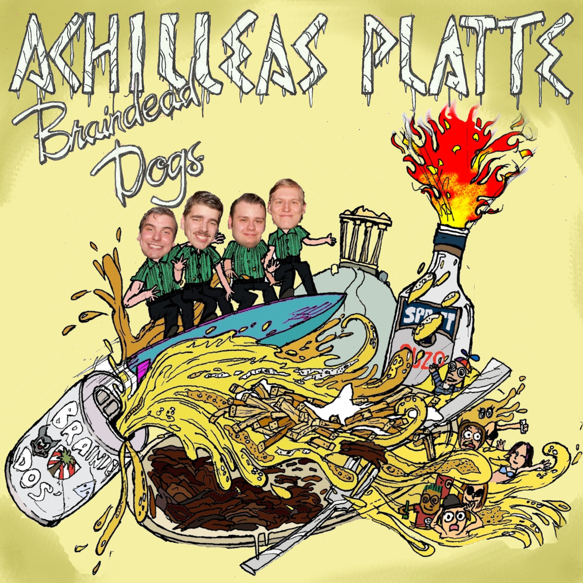 Braindead Dogs - Achilleas Platte EP