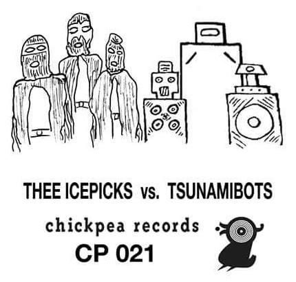 Thee Icepicks vs. The Tsunamibots