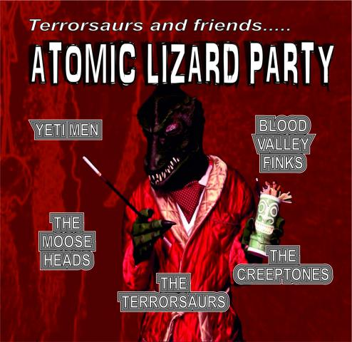 Terrorsaurs - Atomic Lizard Party