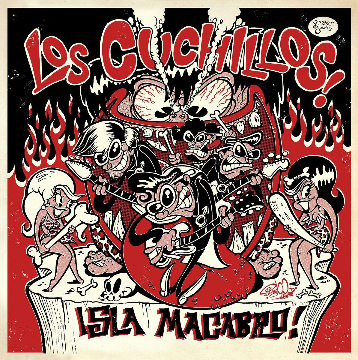 Los Cuchillos - Isla Macabro!