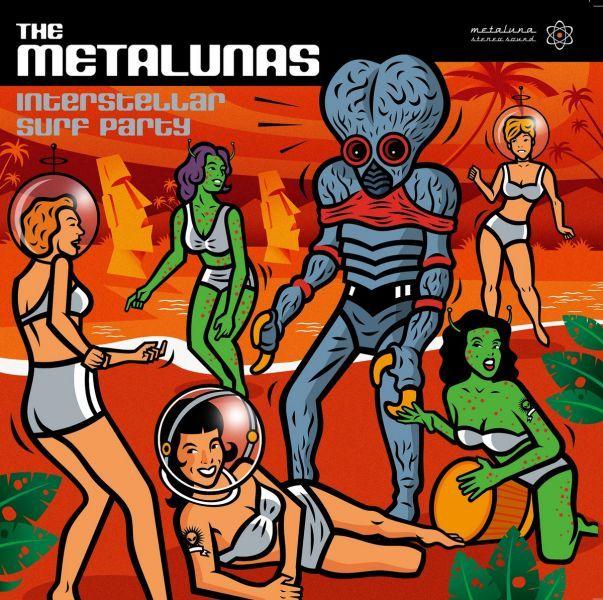 The Metalunas - Interstellar Surf Party