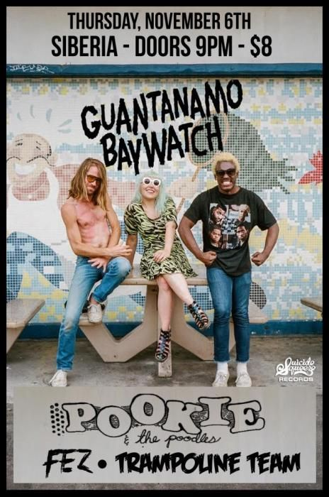 Guantanamo Baywatch Thursday at Siberia